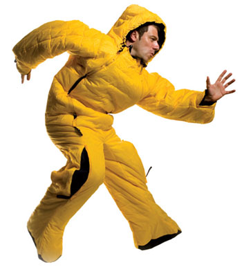 I'm running to my computer with this full body sleeping bag on to find some other ones discounted at these online camping stores!  Wow, I'm getting hot running in this thing!