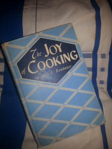 The Joy of Cooking Vintage Cookbook